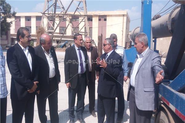 وكيل وزارة الري وقيادات الوزارة في جولة تفقدية بنطاق محافظة الشرقية
