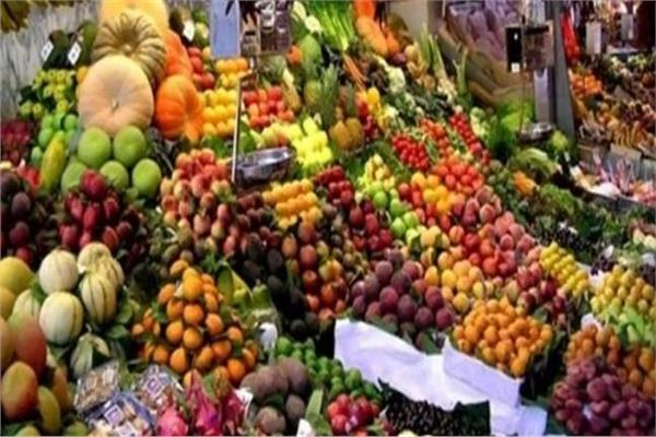 استقرار أسعار الفاكهة في سوق العبور اليوم