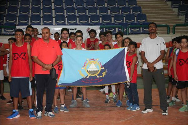افتتاح بطولة حتحور الدولية الاولى لكرة السلة