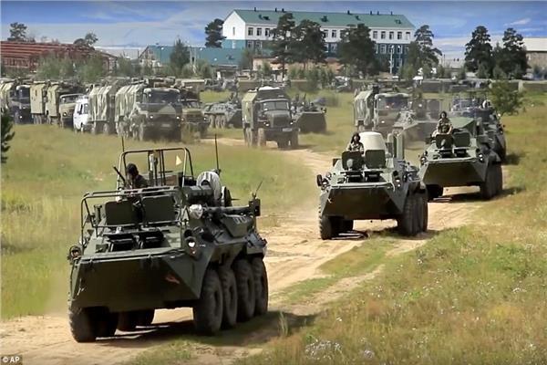 صورة من صحيفة ديلي ميل لألعاب الحرب