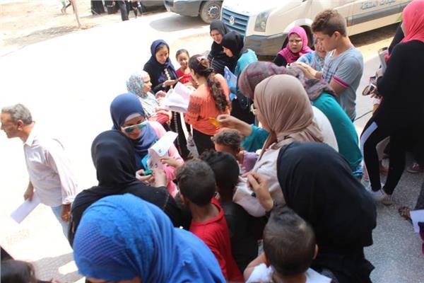 5 قوافل صحية داخل أحياء العاصمة للتوعية بترشيد استهلاك المياه