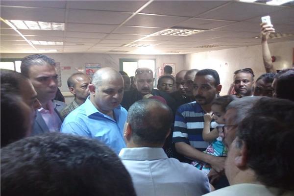 تفقد محافظ الغربية لمستشفى المحلة