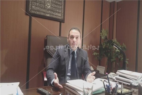الدكتور مدحت نافع رئيس الشركة القابضة المعدنية