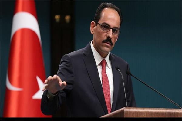 المتحدث الرئاسي التركي إبراهيم كالين