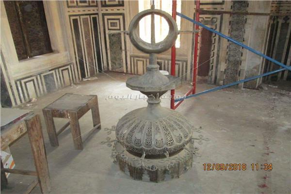 ترميم «مسجد سارية الجبل»
