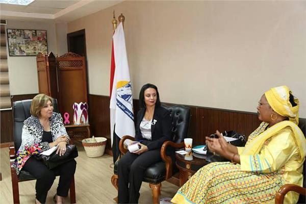 مايا مرسي: مستعدون لمساندةاللجنة الإفريقية في ملف حقوق المرأة