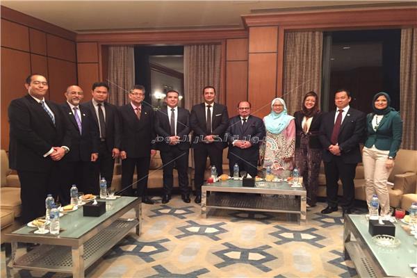 نائب وزير الصناعات الأولية الماليزي: نستهدف تكثيف التعاون مع مصر