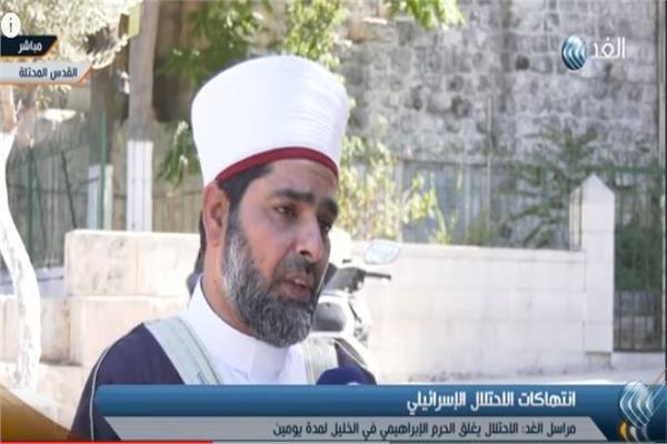 الشيخ عمر الكسواني مدير المسجد الاقصي