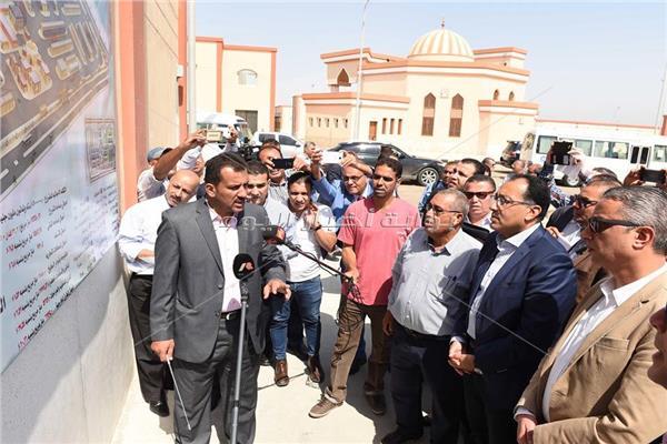 جولة رئيس الوزراء بمحافظة سوهاج