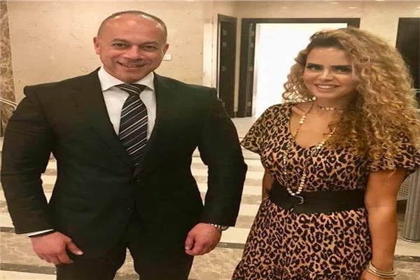 شيرين حمدي والمنتج تامر مرسي