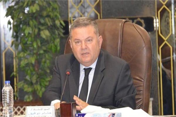 المهندس هشام توفيق وزير قطاع الأعمال العام