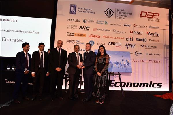الإمارات أفضل شركة طيران في الشرق الأوسط وأفريقيا ضمن جوائز «أفييشن 100»