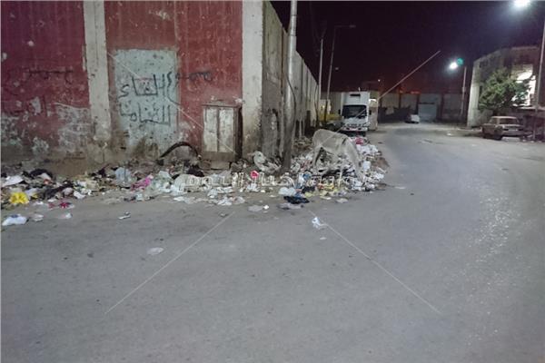 القمامة والحمير علىى ملف الطريق