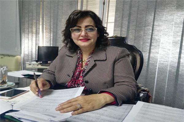 د. منى محرز نائب وزير الزراعة للثروة الحيوانية والسمكية والداجنة