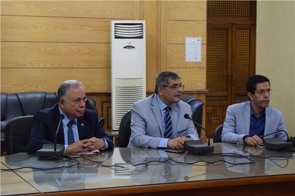 رئيس جامعة بنها : رؤية مستقبلية للتعاون مع الجامعات الدولية بجامعة بنها
