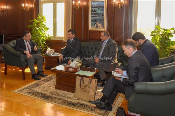 محافظ الإسكندرية يستقبل سفير أوزباكستان لبحث سبل التعاون المشترك