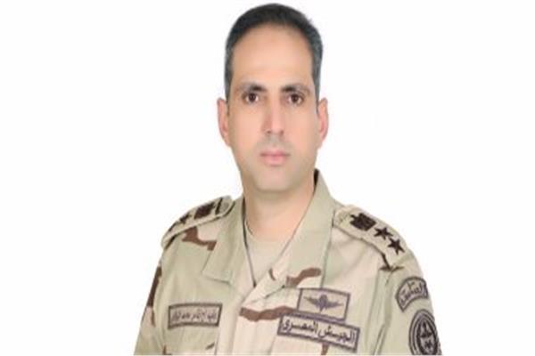 العقيد أركان حرب تامر الرفاعي - المتحدث العسكري للقوات المسلحة