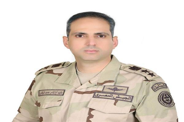المتحدث العسكري العقيد أركان حرب تامر الرفاعي