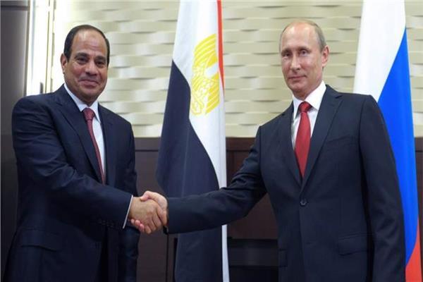 الرئيس الروسي فلاديمير بوتين والرئيس عبد الفتاح السيسي