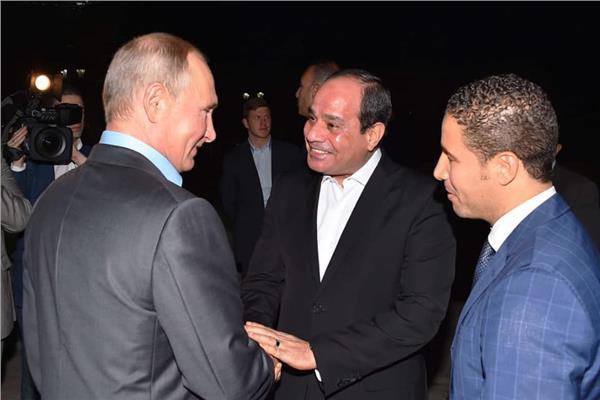 الرئيس الروسي يستقبل الرئيس السيسي في سوتشي