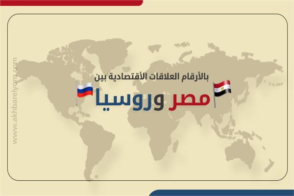 بالأرقام العلاقات الأقتصادية بين مصر وروسيا