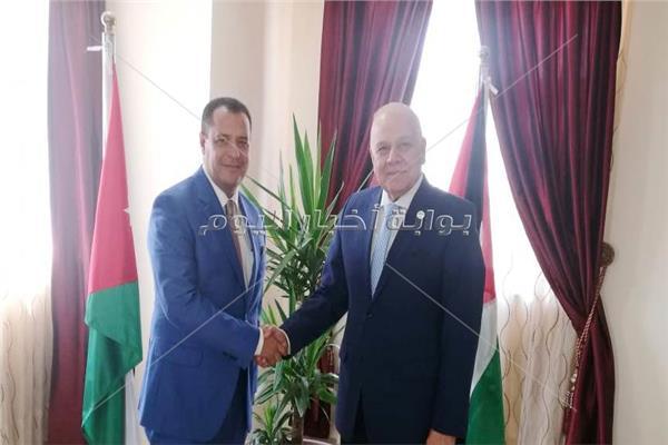 امين عام الجامعات العربية مع د.غريب شلقامي نائب رئيس جامعة أسيوط