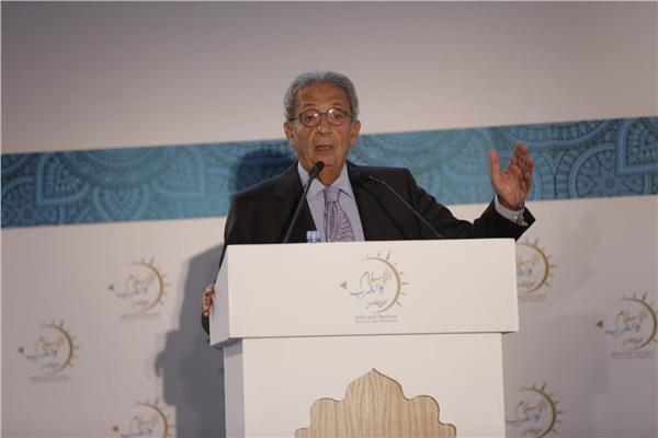 عمرو موسى، الأمين العام الأسبق لجامعة الدول العربية