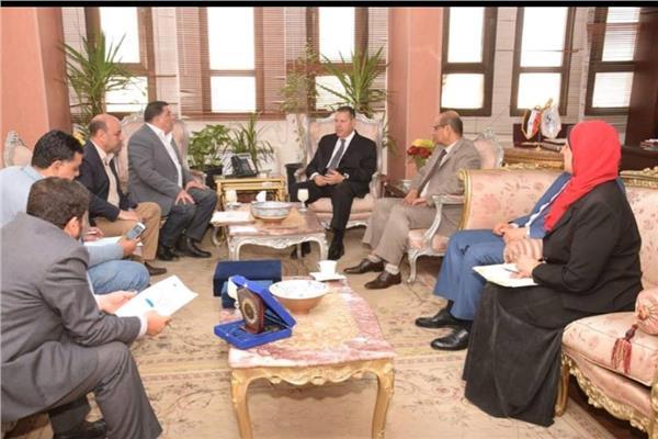 جامعة عين شمس تستعد لإطلاق قافلتها التنموية الشاملة لمحافظة بني سويف