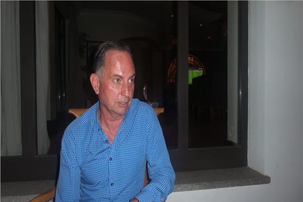 جيف موليستكووم، أحد المتحدثين بجلسة السوشيال ميديا في منتدى شباب العالم 2018