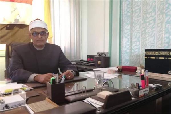 الدكتور محمد سعد العش وكيل وزارة الأوقاف بشمال سيناء