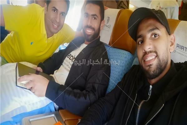مؤمن زكريا وأحمد فتحي ومحرر بوابة أخبار اليوم