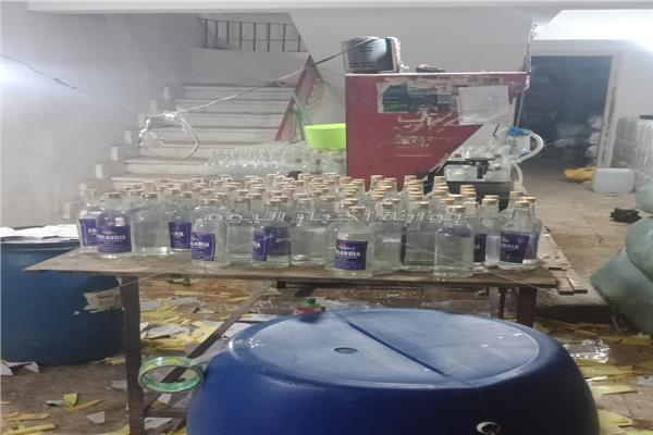 مصنع لانتاج الخمور