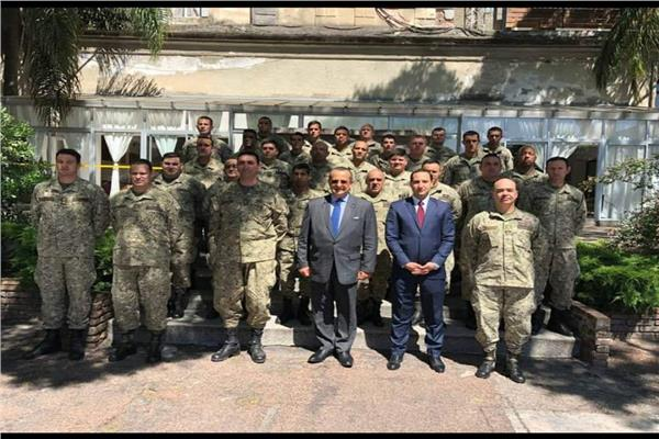 محاضرة لسفير مصر في الاورجواي حول السلام