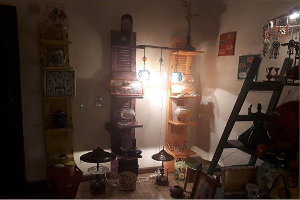 كراكيب رشا.. تحف فنية من روبابيكيا البيوت