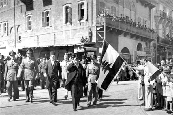 جانب من مظاهر احتفالات الاستقلال في لبنان