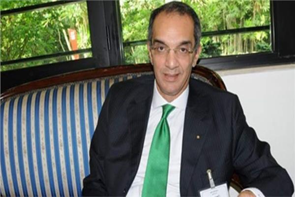 الدكتور عمرو طلعت وزير الاتصالات و تكنولوجيا المعلومات