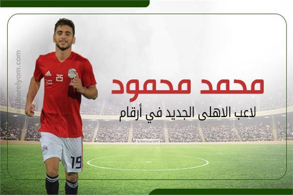 محمد محمود لاعب الأهلي الجديد في أرقام