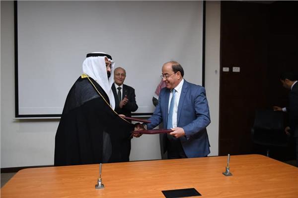 «الإنتاج الحربي» توقع بروتوكول تعاون مع شركة كويتية