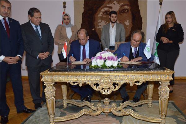 نادي القضاة يوقع بروتوكول تعاون مع جامعة مصر للعلوم والتكنولوجيا