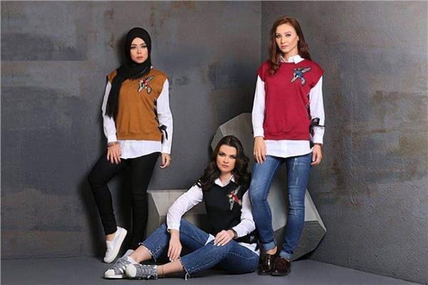 """مصمم الأزياء""""أحمد عبد الفتاح""""يقدم لشتاء 2019 موديلات عصرية وكاجوال للفتاة العملية"""