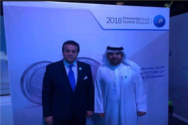 د.خالد عبدالغفار وزير التعليم العالى والبحث العلمى