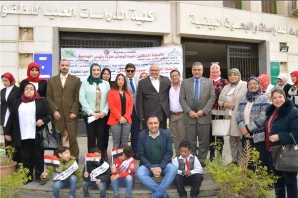 جامعة عين شمس تحتفل باليوم العالمي لمتحدى الإعاقة
