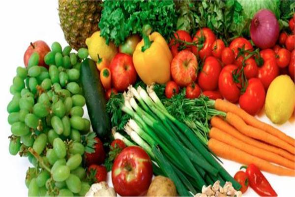 فوائد الخضر والفاكهة