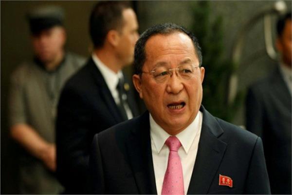 ري يونج وزير خارجية كوريا الشمالية