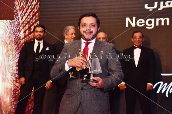 محمد هنيدي خلال الحفل