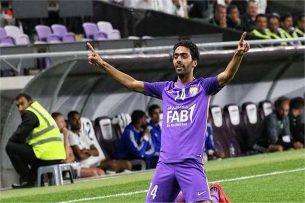 حسين الشحات نجم العين الإماراتي