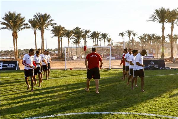 تدريب منتخب مصر للكرة الشاطئية