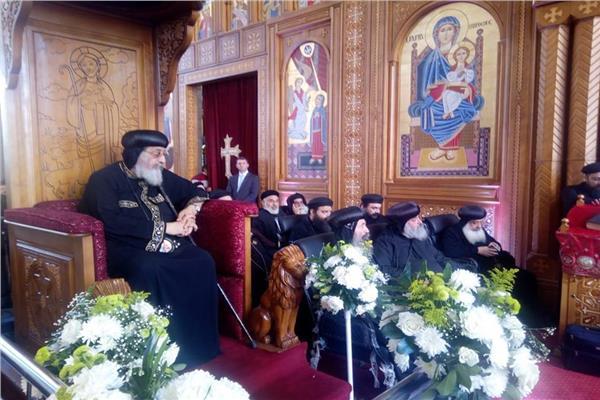 احتفالية إيبارشية حلوان والمعصرة بتدشين كاتدرائية دير الأنبا برسوم بالمعصرة