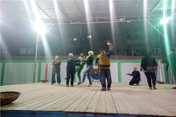 استعدادات ذوي الاحتياجات الخاصة بالقليوبية لمسابقة الحلم المصري