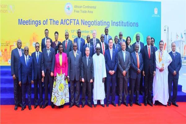 وزراء التجارة الأفارقة بالقاهرة